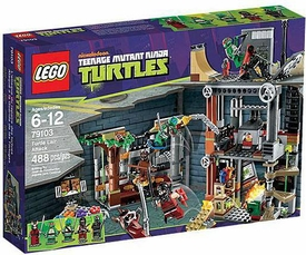 LEGO Teenage Mutant Ninja Turtles Set #79103 Turtle Lair Attack