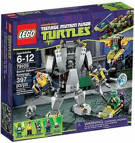 LEGO Teenage Mutant Ninja Turtles Exclusive Set #79105 Baxter Robot Rampage