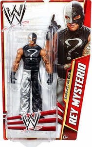 Mattel WWE Wrestling Basic Series 28 Action Figure #25 Rey Mysterio