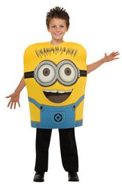 Despicable Me Rubies Costume #884183 Minion Jorge [Child Medium]