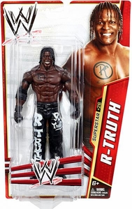 Mattel WWE Wrestling Basic Series 28 Action Figure #26 R-Truth BLOWOUT SALE!