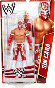 Mattel WWE Wrestling Basic Series 28 Action Figure #28 Sin Cara
