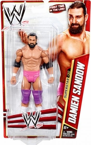 Mattel WWE Wrestling Basic Series 28 Action Figure #30 Damien Sandow
