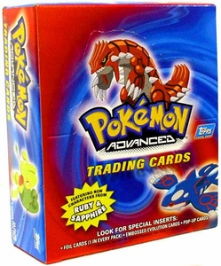 Topps Pokemon Advanced Trading Card Trading Card Box [24 Packs]