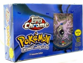 Topps Pokemon Chrome Advanced Trading Card Series 2 Box [30 Packs]