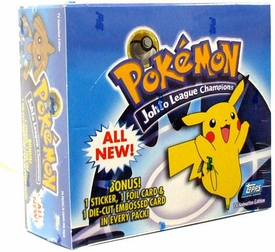 Topps Pokemon Johto League Champions Trading Card Box [24 Packs]
