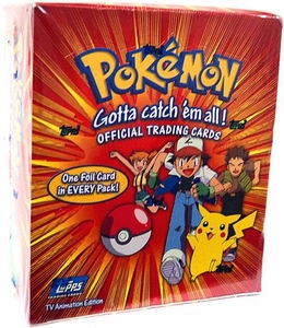Topps Pokemon Trading Cards TV Animation Series 1 Trading Card Box [36 Packs]