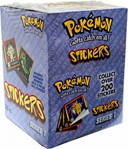 Pokemon Artbox Series 1 Stickers Box [30 Packs]
