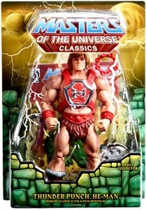 He-Man Masters of the Universe Classics Exclusive Action Figure Thunder Punch He-Man