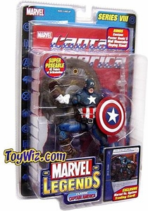 Marvel Legends Series 8 Action Figure Captain America Classic Variant