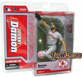 McFarlane Toys MLB Sports Picks Series 11 Action Figure Johnny Damon (Boston Red Sox) Gray Jersey Variant