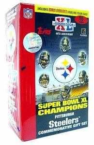 Topps NFL Football Cards 2006 Pittsburgh Steelers Super Bowl Champions Commemorative Gift Set