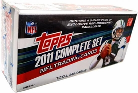 2011 NFL Topps Football Cards Complete HOBBY Factory Sealed Set