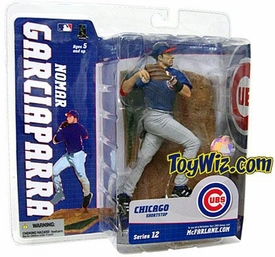 McFarlane Toys MLB Sports Picks Series 12 Action Figure Nomar Garciaparra (Chicago Cubs) Blue Jersey