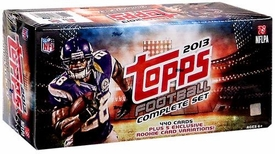2013 NFL Topps Football Cards Complete RETAIL Factory Sealed Set