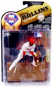 McFarlane Toys MLB Sports Picks Series 24 [2009 Wave 1] Action Figure Jimmy Rollins (Philadelphia Phillies) White Uniform