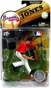 McFarlane Toys MLB Sports Picks Exclusive Series 23 Action Figure Chipper Jones (Atlanta Braves) Red Jersey