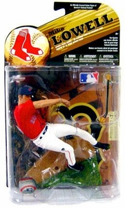 McFarlane Toys MLB Sports Picks Series 24 [2009 Wave 1] Exclusive Action Figure Mike Lowell (Boston Red Sox) Red Jersey