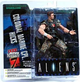 McFarlane Toys Movie Maniacs Series 7 Action Figure Colonial Marine CPL. Hicks [Aliens]