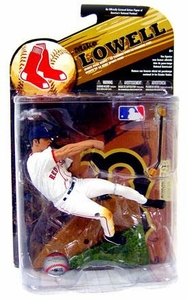 McFarlane Toys MLB Sports Picks Series 24 [2009 Wave 1] Exclusive Action Figure Mike Lowell (Boston Red Sox) White Jersey Variant