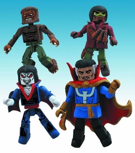 Marvel Minimates Strange Tales Box Set [Dr. Strange, Blade, Morbius & Werewolf By Night]