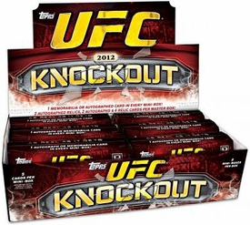 Topps UFC Ultimate Fighting Championship 2012 Knockout Trading Card Box [8 Packs]