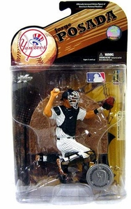 McFarlane Toys MLB Sports Picks Exclusive Series 23 Action Figure Jorge Posada (New York Yankees)