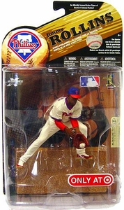 McFarlane Toys MLB Sports Picks Series 24 [2009 Wave 1] Exclusive Action Figure Jimmy Rollins (Philadelphia Phillies) Throwback Uniform & Blue Hat