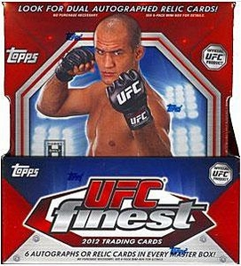 Topps FINEST UFC Ultimate Fighting Championship 2012 Finest Trading Card Box [12 Packs]