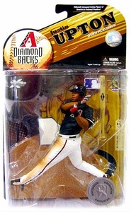 McFarlane Toys MLB Sports Picks Exclusive Series 23 Action Figure Justin Upton (Arizona Diamondbacks) Damaged Package, MINT Contents!