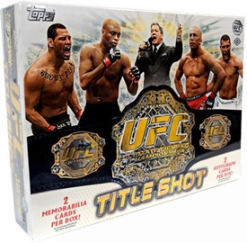Topps UFC Ultimate Fighting Championship 2011 Title Shot Trading Card Box [12 Packs]