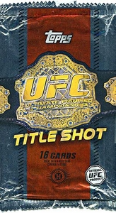 Topps UFC Ultimate Fighting Championship 2011 Title Shot Trading Card Pack