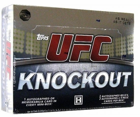 Topps UFC Ultimate Fighting Championship 2010 Knockout Trading Card Box [8 Packs]
