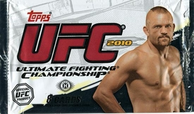 Topps UFC Ultimate Fighting Championship 2010 HOBBY Trading Card Pack