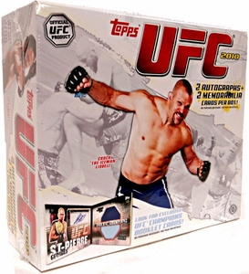 Topps UFC Ultimate Fighting Championship 2010 HOBBY EDITION Trading Card Box [16 Packs]