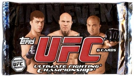Topps UFC Ultimate Fighting Championship Main Event RETAIL EDITION Trading Card Pack