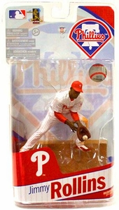 McFarlane Toys MLB Sports Picks 2010 Philadelphia Phillies Action Figure Jimmy Rollins