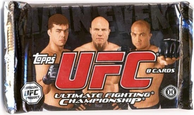 Topps UFC Ultimate Fighting Championship Main Event HOBBY EDITION Trading Card Pack