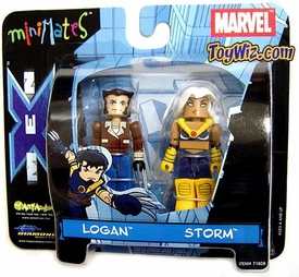 Marvel MiniMates Logan and Storm