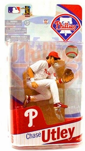 McFarlane Toys MLB Sports Picks 2010 Philadelphia Phillies Action Figure Chase Utley
