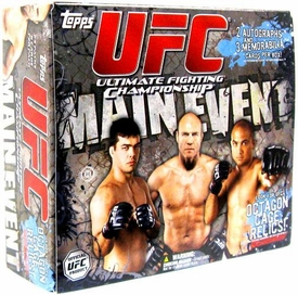 Topps UFC Ultimate Fighting Championship Main Event HOBBY EDITION Trading Card Box [24 Packs]