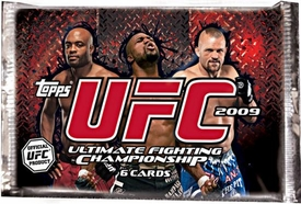 Topps 2009 UFC Ultimate Fighting Championship [Round 2] Trading Card RETAIL EDITION  Pack [6 Cards]
