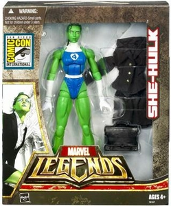 Marvel Legends 2007 SDCC San Diego Comic-Con Exclusive Action Figure She-Hulk [Fantastic 4]