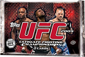 Topps UFC Ultimate Fighting Championship 2009 [Round 2] Trading Card HOBBY EDITION Pack [8 Cards]