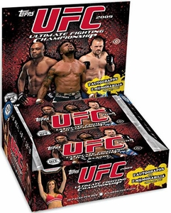 Topps UFC Ultimate Fighting Championship 2009 [Round 2] Trading Card HOBBY EDITION Box [16 Packs]