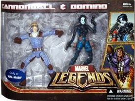 Marvel Legends Exclusive Action Figure 2-Pack Cannonball & Domino