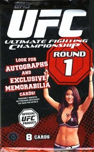 Topps UFC Ultimate Fighting Championship Round 1 Trading Card Pack�[8 Cards] Impossible to Find!