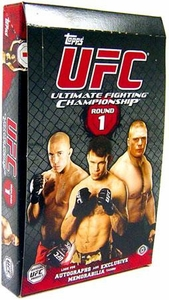 Topps UFC Ultimate Fighting Championship Round 1 Trading Card Box [16 Packs] Impossible to Find!