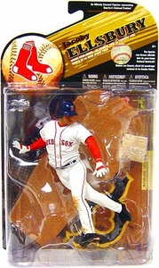 McFarlane Toys MLB Sports Picks Series 25 [2009 Wave 2] Action Figure Jacoby Ellsbury (Boston Red Sox) White Jersey