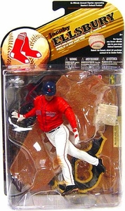 McFarlane Toys MLB Sports Picks Series 25 [2009 Wave 2] Action Figure Jacoby Ellsbury (Boston Red Sox) Red Jersey Variant
